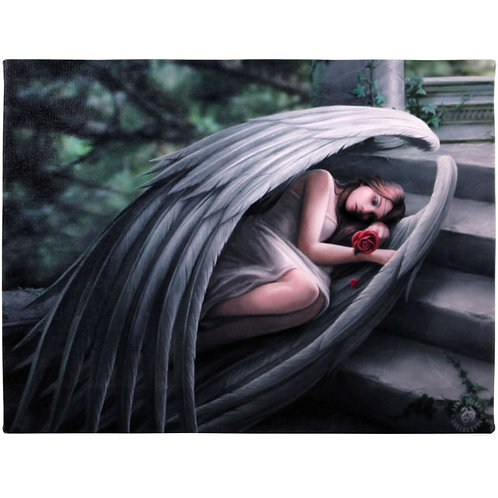 Sweet Sorrow (Anne Stokes) Canvas Print 25x19cm