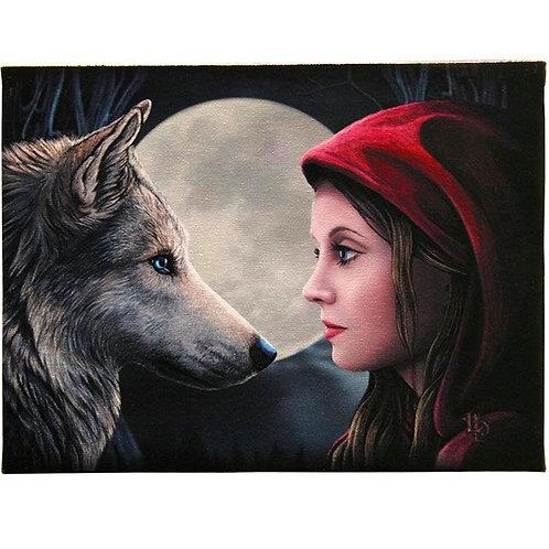 Moonstruck (Lisa Parker) Canvas Print - 25x19cm