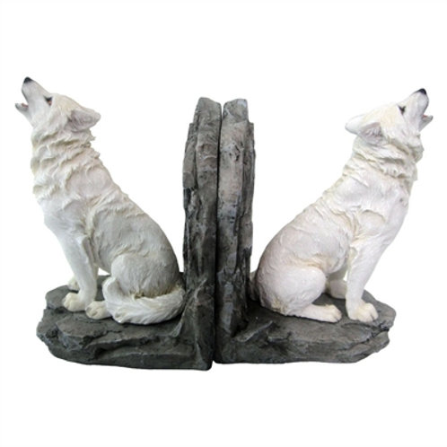Wardens of the North (Lisa Parker) Wolf Bookends