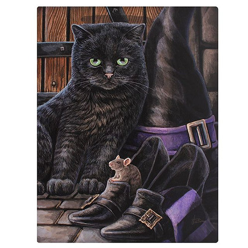 Trouble & Squeak (Lisa Parker) Canvas Print by Lisa Parker - 19x25cm