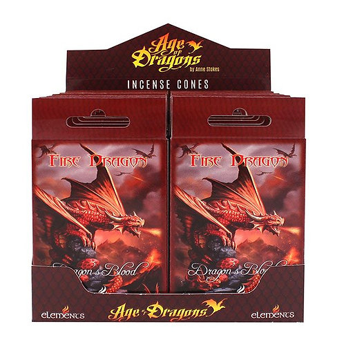 Fire Dragon Incense Cones (Anne Stokes)