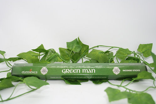 Green Man Incense Sticks