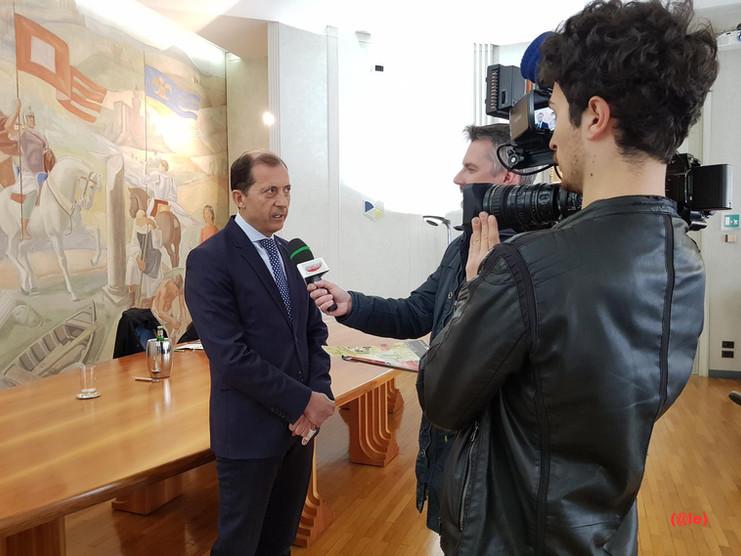 Conferenza stampa per Centenario