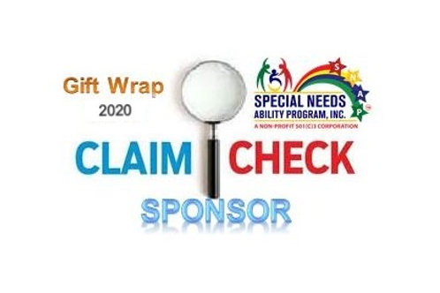 Holiday Claim Check Sponsor 2020