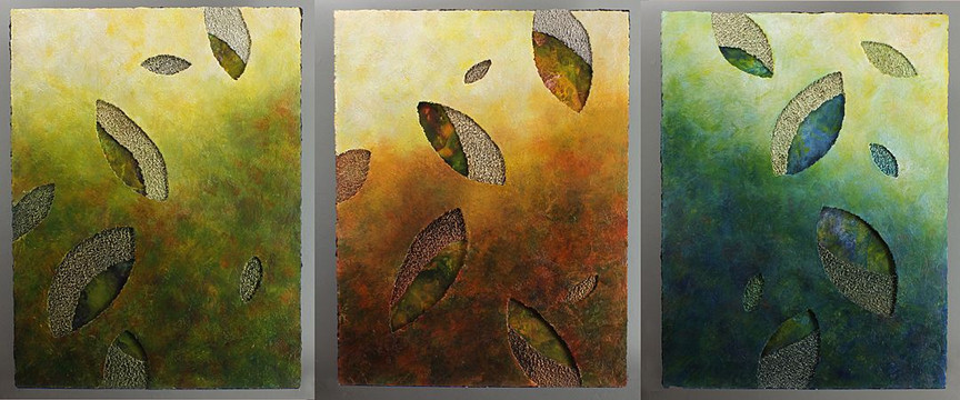 ANOTHER DIMENSION 6 - leaves - multiple panels