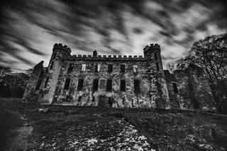 Bishop's Palace at Night