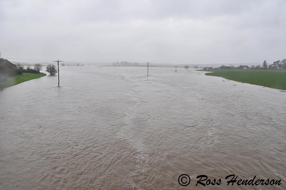 River Don Flooded, Kemnay