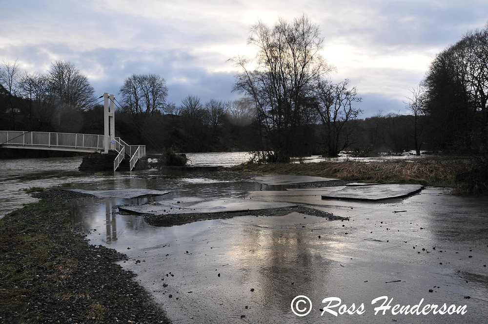 Flooding Damage Shakin' Brig
