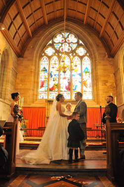 Wedding Ceremony Haddo House Chapel