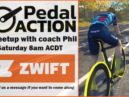 Join coach Phil on Zwift