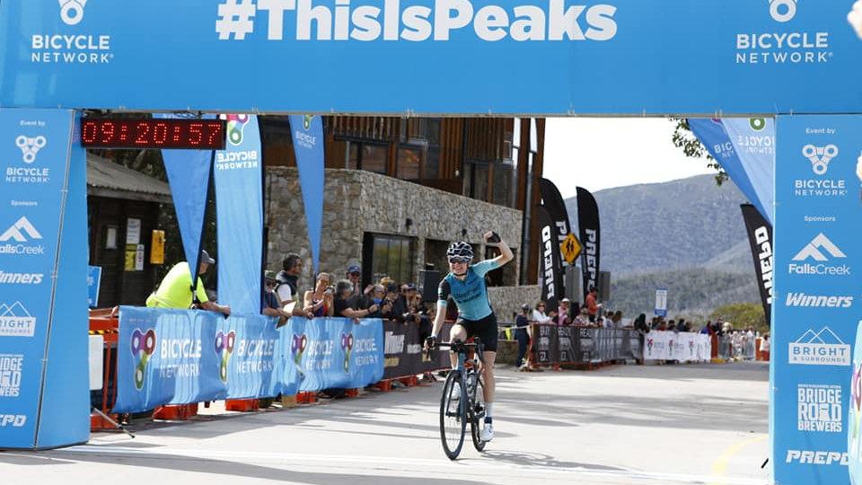 Peaks Challange Falls Creek -16 Week prep and ride plan