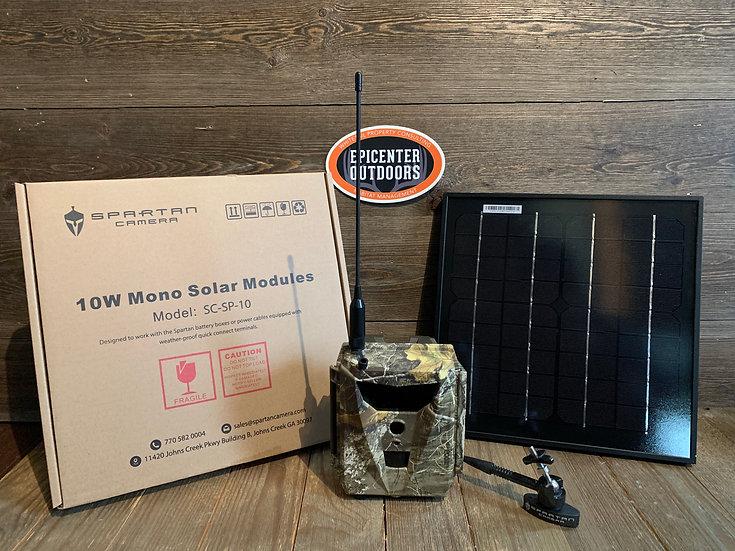 Spartan 10W Mono Solar Panel