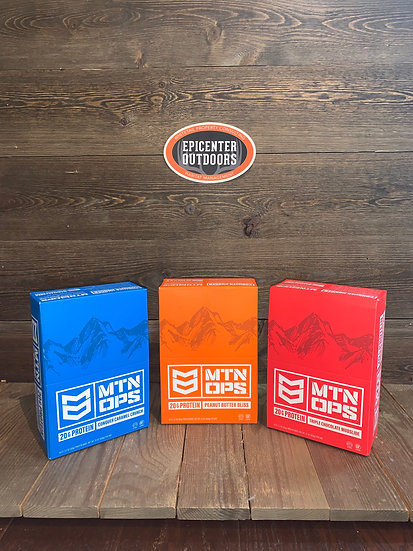 MTN OPS Performance PROTEIN Bars
