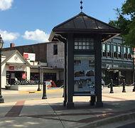 Downtown Farmville kiosk