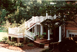 Campbell County landscape and staircase
