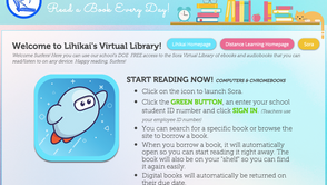 NEW! Sora Virtual Library Access