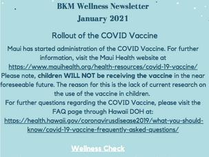 January BKM Wellness Newsletter