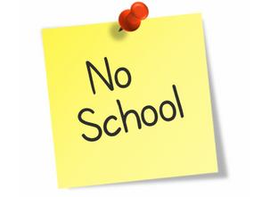 No School Tuesday FEB 11th