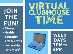 Boys & Girls Club Virtual Clubhouse Time