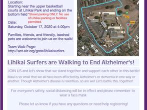 Join us! Lihikai's walk to end Alzheimer's