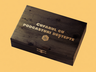 Cufărul cu podcasturi deștepte al lunii aprilie