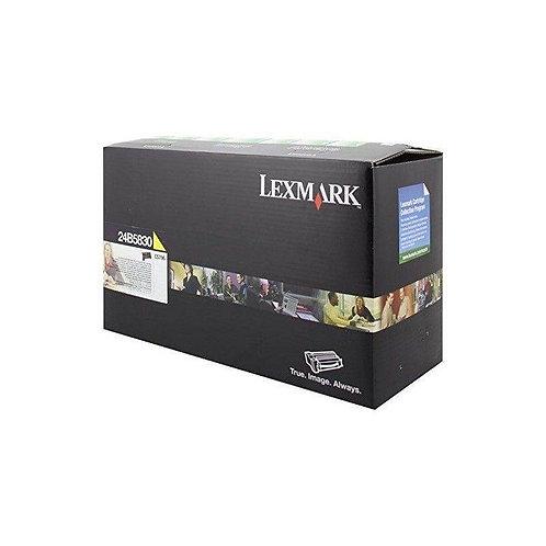 Lexmark 24B5830 Extra High Yield Yellow Toner Cartridge
