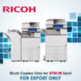 Ricoh for Export