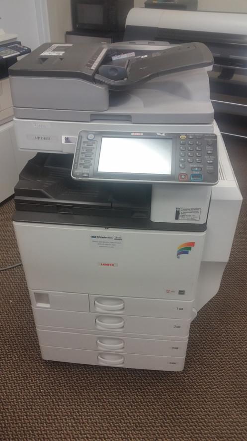 Aficio mp c4502 scan to folder