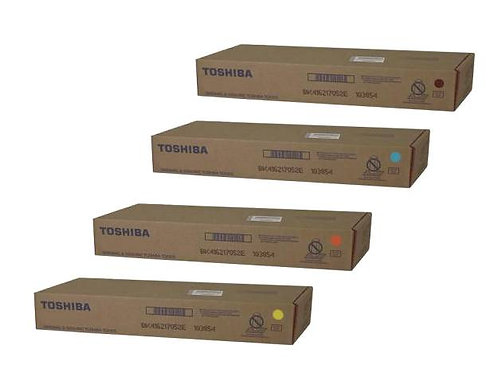 TOSHIBA TFC75UC, TFC75UK, TFC75UM, TFC75UY OEM TONER CARTRIDGES SET
