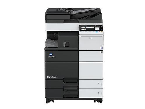 Konica Minolta Bizhub 458 Copier Printer Scanner