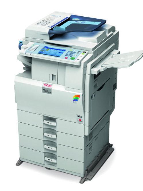 Ricoh Aficio MP C2550 Tabloid-Size Color Laser Multifunction Copier