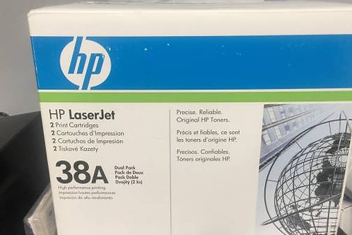 HP 38A, Black Original Toner Cartridge (Q1338A)