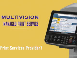 Why do I need a Managed Print Services Provider?