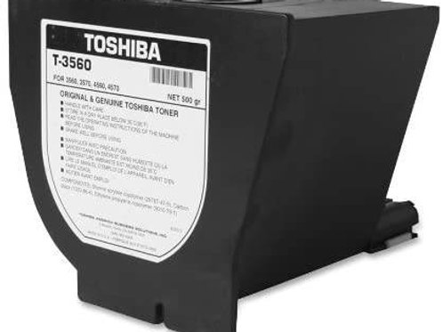 TOSHIBA T3560 black toner cartridge for toshiba model bd3560, 4560