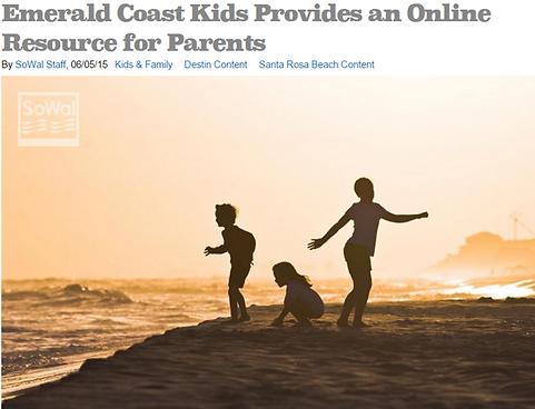 Emerald Coast Kids SoWal 30a Bully Free