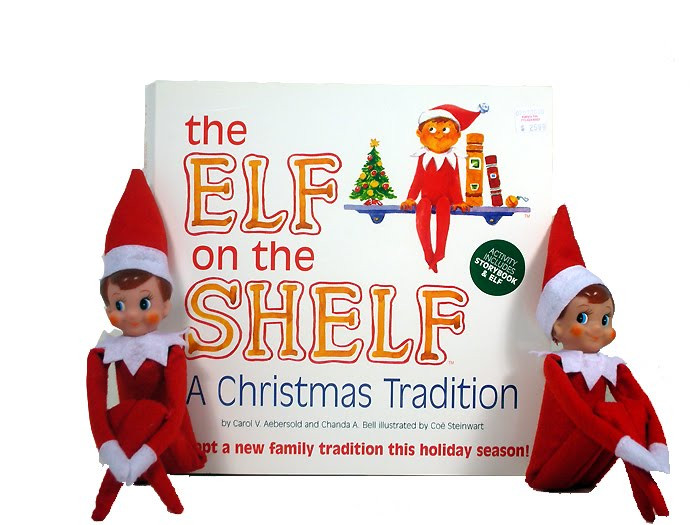 What is ELF ON THE SHELF? Just Shoot Me Now