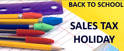 FLORIDA BACK TO SCHOOL SALES HOLIDAY EME