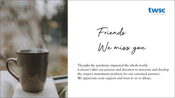 Friends, we miss you!