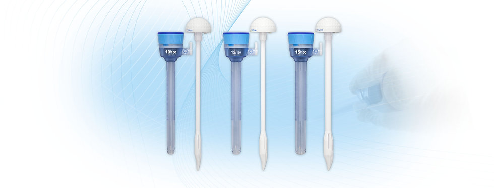 Disposable Dilating Trocar 5-10/12/15mm