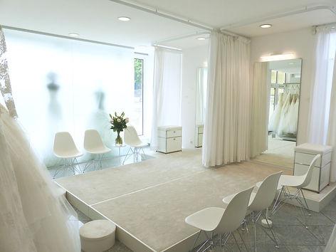 Impressionen / Bilder vom Geschäft Brautmoden Marie Bernal
