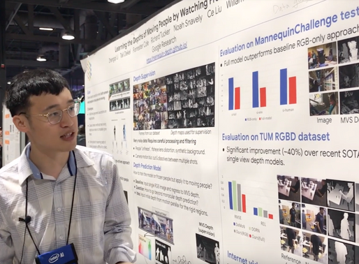 [CVPR 2019 Paper Discussion] Honorable Mention: Zhengqi Li @Cornell University & Google Research