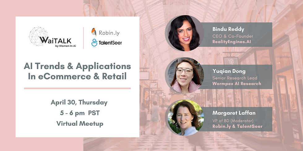 AI Trends & Applications in eCommerce & Retail