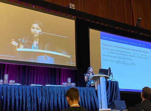 [NeurIPS 2019 Highlight] Meena Jagadeesan @ Harvard: Understanding Sparse JL for Feature Hashing