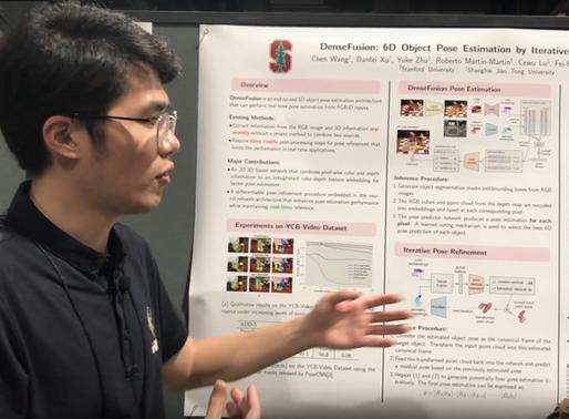 [CVPR2019 Paper Discussion] Chen Wang @ SJTU & Feifei Li's Stanford Group