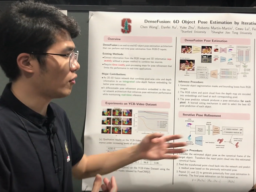 [CVPR2019 Paper Discussion] Chen Wang @ SJTU & Feifei Li's Stanford Group