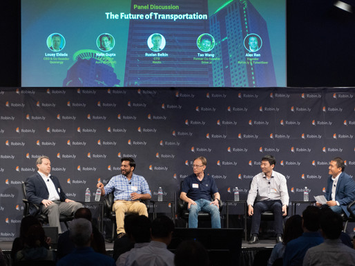 The Future of Transportation - Panel Discussion @ 2019 Robin.ly AI Commercialization Conference