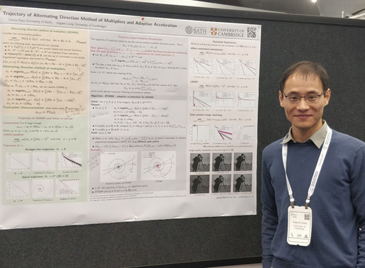 [NeurIPS 2019 Highlight] Jingwei Liang @ Cambridge : Multipliers and Adaptive Acceleration