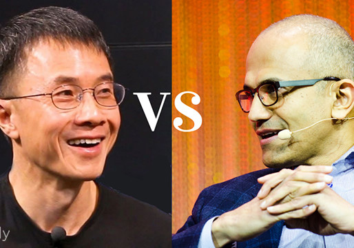 Qi Lu vs. Satya Nadella – How to Lead for Change