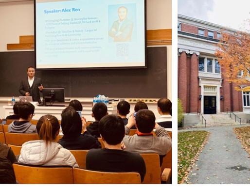 Alex Ren Harvard-MIT AI Talk: AI Startups From 0 To 1