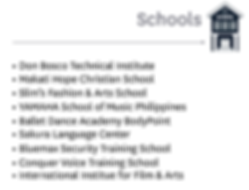 Vion Tower - Schools